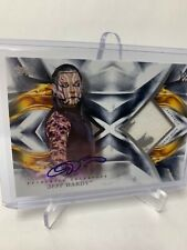 2019 TOPPS WWE UNDISPUTED JEFF HARDY AUTOGRAPH 2 COLOUR RELIC /25 RARE NEW MINT