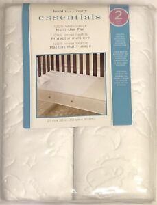 Koala Baby Essentials 2-Pack 100% Waterproof Multi-Use Pad NEW