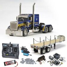 Tamiya Grand Hauler Customized komplett mit MFC-01, Flachbett, Lager #56344SET3