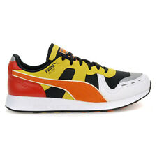PUMA Men's RS-100 X Roland Shoes Black/White/Orange 36840501 NEW!