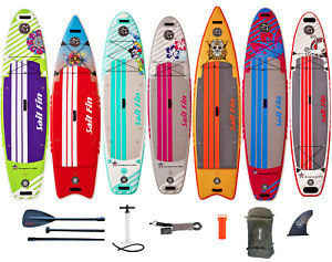 ISUP 9' to 12' -Inflatable Paddle Board- 1-Year Limited Warranty - Sail Fin USA