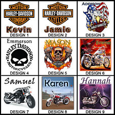 Personalised Harley Davidson Mug - Any Name / Message - Many Designs - Gift Idea
