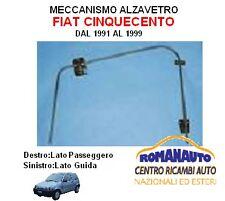 *30/180 ALZAVETRO ALZACRISTALLI MANUALE FIAT CINQUECENTO DAL 1991 ANT. DESTRO
