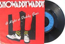"""ROCKABILLY SHOWADDYWADDY 7"""" A Night At Daddy Gees UK 1979 Vinyl single"""
