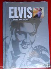 cds cd's elvis presley il re del rock and roll elvis 1cd + book 2010 raro