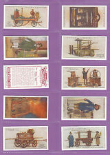 FIRE ENGINES - SET OF 50 PLAYER'S ' FIREFIGHTING - APPLIANCES ' CARDS  REPRINTS