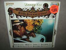 DANNY COX Birth Announcement RARE SEALED NM Gatefold Double 2 LP 1969 ST-T-1011