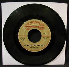 THE CAREFREES-We Love You Beatles-Beatles Tribute 45-LONDON INTERNATIONAL #10614