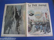 Le petit journal 1906 811 Ballon fête sapeurs pompiers Rambouillet