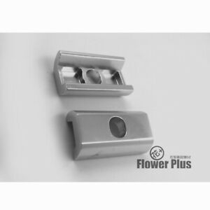 NEW 1 Pair Aluminum alloy Clamp Plate C Type Clip for Brompton Folding Bike