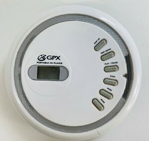 GPX Portable CD Player (WHITE) Tested (CDP1805)