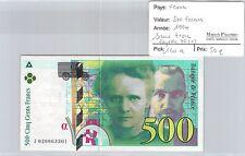 BILLET FRANCE - 500 FRANCS 1994 - SANS TROU