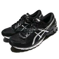 Asics Gel-Kinsei 6 Black Silver Men Running Training Shoes Sneakers T642N-9096