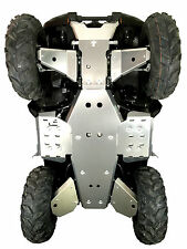 YAMAHA GRIZZLY 700 2016 2017 2018 2019 // 8 PIECE COMPLETE ALUMINUM SKID PLATE
