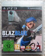BLAZ BLUE CALAMITY TRIGGER DEUT EDITION PS3