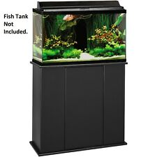 Aquarium Fish Tank Stand Holder 29 Gal Enclosed Storage Cabinet Upright Wood New