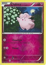POKEMON XY FURIOUS FISTS - CLEFAIRY 69/111 REV HOLO