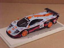 Spark #S5083 1/43 Résine Mclaren F1 GTR, 2nd Global/1st Gt1 1997 Mans, Golf