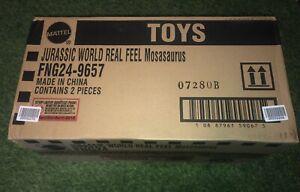 MOSASAURUS Jurassic Park World Mattel Shipper Box Figure Dinosaur Toy