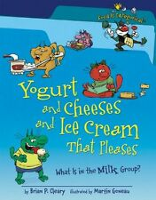 Yogurt and Cheeses and Ice Cream That Pleases: What Is in the Milk Group? (Food