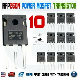 FDBL86066-F085 MOSFET PTNG 100V N-FET TOLL 240A 4.1 mOhm Pack of 10