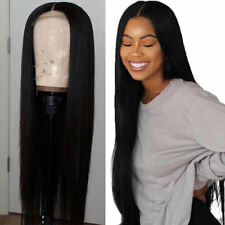 Straight Brazilian Real Human Hair Silk Top Full Lace Wigs 360 Lace Front Wig v8