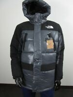 Mens M The North Face Himalayan Synthetic Hooded Insulated Winter Parka Grey