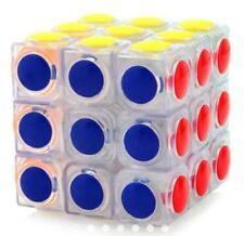 Linggan 3x3 Dot Design Clear Transparent Speed Rubik's Cube