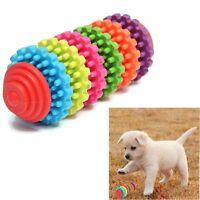 Multi-colour Rubber Pet Dog Puppy Dental Teething Healthy Teeth Gums Chew Toy