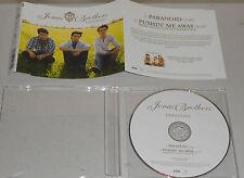 Single CD Jonas Brothers-paranoïaque 2009 2. tracks 111