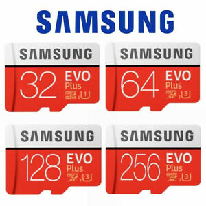 Samsung 16GB 32GB 64 GB EVO Plus Micro SD Card Class 10 SDHC Memory Card