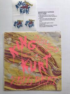 king kurt zulu beat— Rare Sickth Edition Includes Tattoos.  Punk/psychobilly
