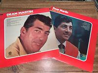 "Dean Martin Return To Me/ You're Nobody 'Til 12"" 33rpm Capitol Vinyl set of 2"