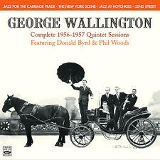 George Wallington Complete 1956-1957 Quintet Sessions (4 Lps On 2 Cds)