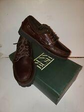 Nunn Bush  Men's Brown Leather Loafer Boat Shoe NEW in box Size 8