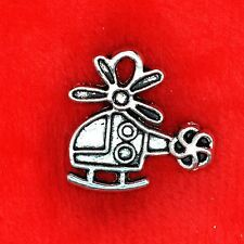 10 x Tibetan Silver Helicopter Charm Pendant Finding Making 50 Shades of Grey