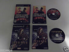 """Justice League Heroes & Iron man pour Playstation 2 TRÈS RARE & HARD TO FIND"""""""