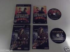 """La Liga De La Justicia Heroes & Iron Man Para Playstation 2 tienen muy raro y difícil de encontrar"""""""
