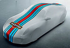 Genuine Porsche 991 GT3 Martini Racing Colour Indoor Car Cover 99104400033 NEW