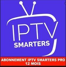 smart pro IP * TV 12 month subscription (M3U✔️SMART TV✔️ANDROID✔️MAG) +18.