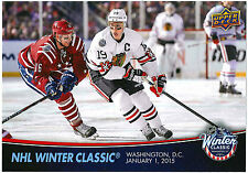 2015-16 Upper Deck NHL Winter Classic Jonathan Toews Blackhawks WC-12