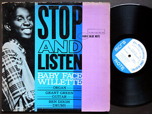 BABY FACE WILLETTE Stop And Listen LP BLUE NOTE BLP 4084 NY EAR MONO Grant Green