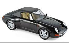Norev Porsche 911 Cabriolet 1994 1:18 black