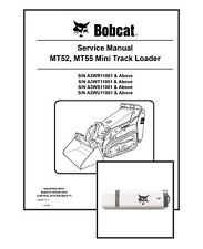 Bobcat MT52 MT55 Workshop Repair Service Manual 6986859 USB Stick + Download