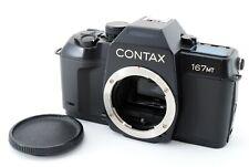 【N MINT!!】 Contax 167 MT 35mm SLR Film Camera Body from Japan A0196
