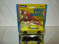 PLAYART 7958 BMW 3.0 CSI - YELLOW 1:43 - GOOD IN CARD-BLISTER