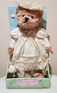 Vintage Hand Crafted Rose Cottage Bear Made In UK
