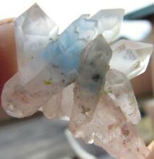 EXTRAORDINARY AESTHETIC PAPAGOITE IN QUARTZ!!! BULL'S EYE POCKET SOUTH AFRICA
