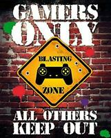 Keep Out : Gamers Only - Mini Poster 40cm x 50cm new and sealed