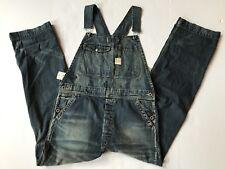RRL Ralph Lauren 1940s Inspired Japanese Washed Denim Overall -WOMEN- Size 3